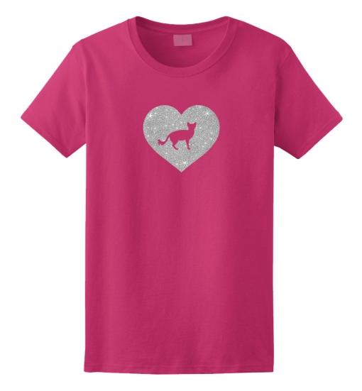 Balinese Cat Glitter T-Shirt