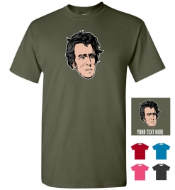 Andrew Jackson Head T-Shirt