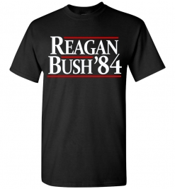 Ronald Reagan / Bush 1984 Campaign T-Shirt