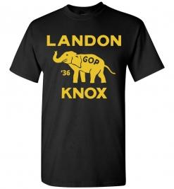 Alf Landon 1936 Campaign T-Shirt