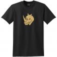 Rhino Head Glitter T-Shirt