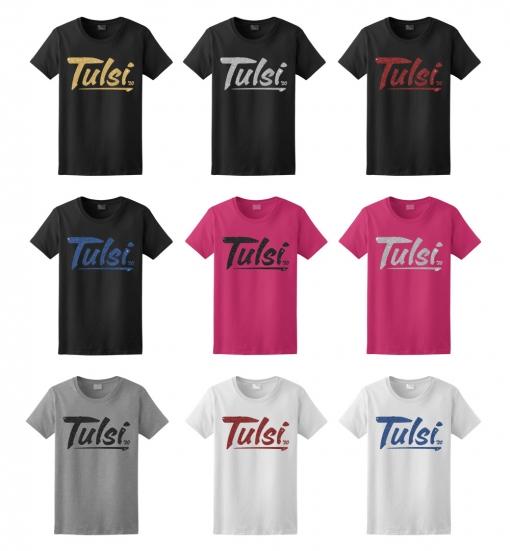 Tulsi Gabbard Glitter T-Shirt