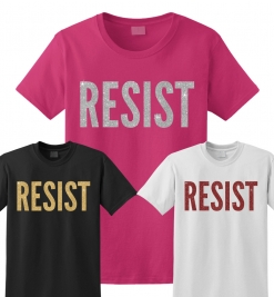 RESIST Glitter T-Shirt