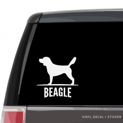 Beagle Custom Decal