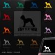 Bedlington Terrier Sticker