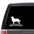 Bernese Mountain Dog Custom Decal