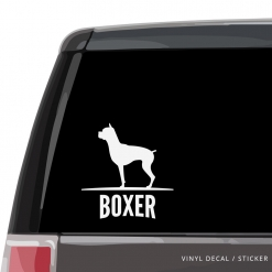 Boxer Custom Decal