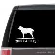 Central Asia Shepherd Car Window Decal