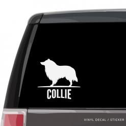 Collie Custom Decal