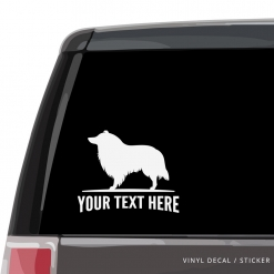 Collie Car Window Decal