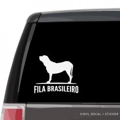 Fila Brasileiro Custom Decal