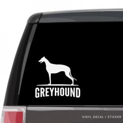 Greyhound Custom Decal