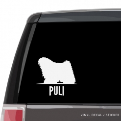 Puli Custom Decal