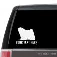Puli Car Window Decal