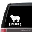 Komondor Custom Decal
