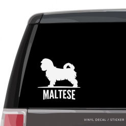 Maltese Custom Decal