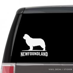 Newfoundland Custom Decal