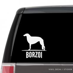 Borzoi Custom Decal