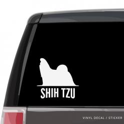 Shih Tzu Custom Decal