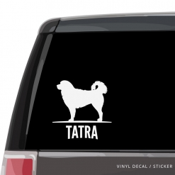Polish Tatra Sheepdog Custom Decal