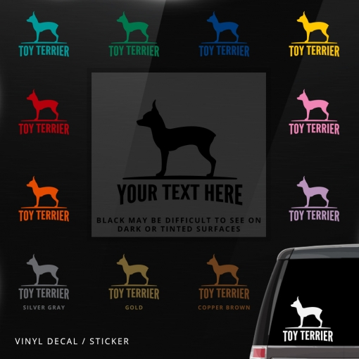 Toy Terrier Sticker