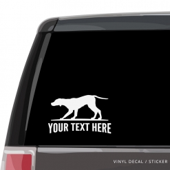 German Shorthaired Pointer Car Window Decal