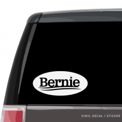 Bernie Sanders Custom (or not) Custom Decal