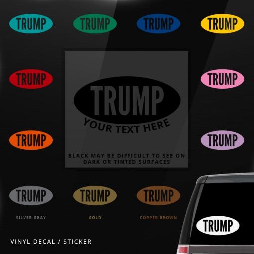 Donald Trump Custom (or not) Sticker