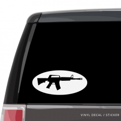 M16 Machine Gun Custom (or not) Custom Decal