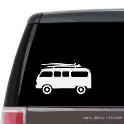 Surf Van Custom (or not) Custom Decal