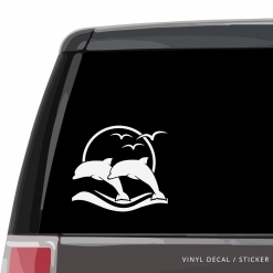 Jumping Dolphins Custom (or not) Custom Decal