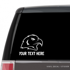 Bald Eagle Custom (or not) Car Window Decal