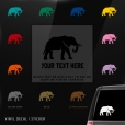 Elephant Custom (or not) Sticker