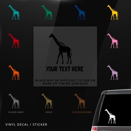 Giraffe Custom (or not) Sticker