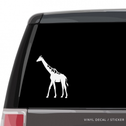 Giraffe Custom (or not) Custom Decal