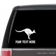 Kangaroo Custom (or not) Car Window Decal