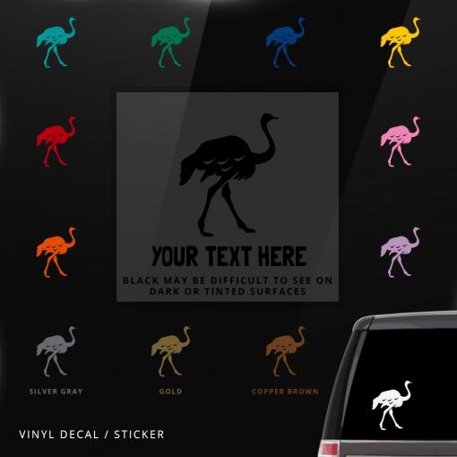 Ostrich Custom (or not) Sticker