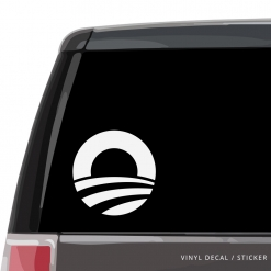 Obama Car Window Decal