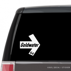 Goldwater Car Window Decal