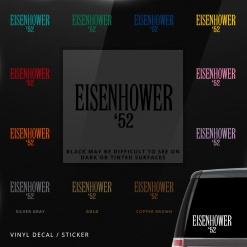 eisenhower decal