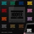Hoover Car Window Decal