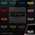 Ronald Reagan Bush Car Window Decal