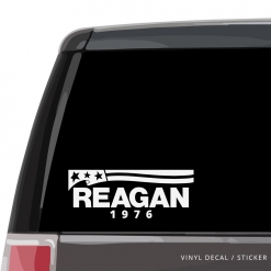 Ronald Reagan Car Window Decal