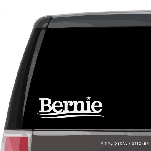 Bernie Car Window Decal