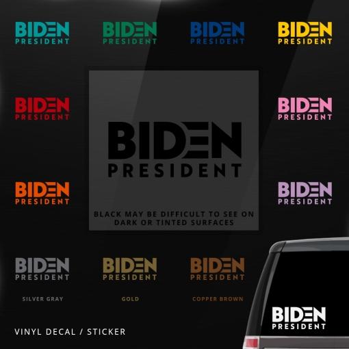 Biden Car Window Decal