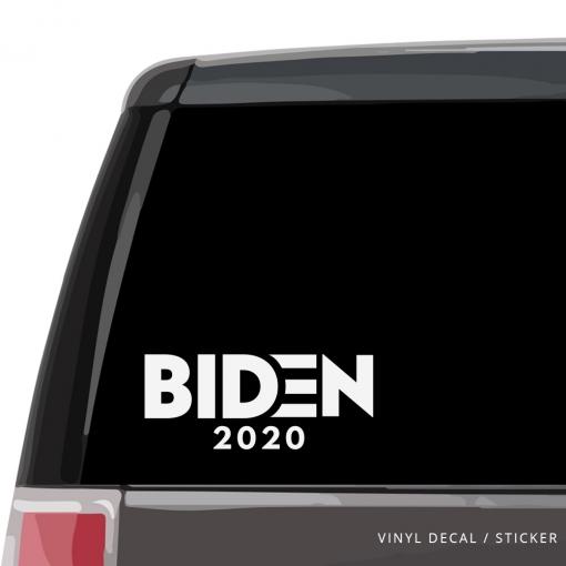 Biden 2020 Car Window Decal