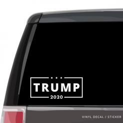 Trump 2020 Vinyl Sticker