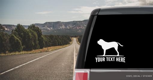 English Mastiff Sticker
