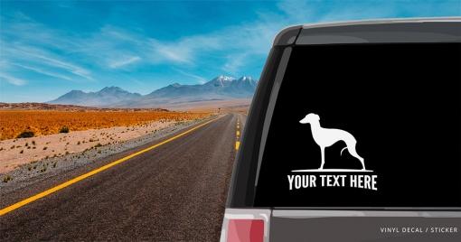 Italian Greyhound Sticker