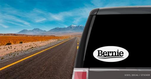 Bernie Sanders Personalized (or not) Sticker